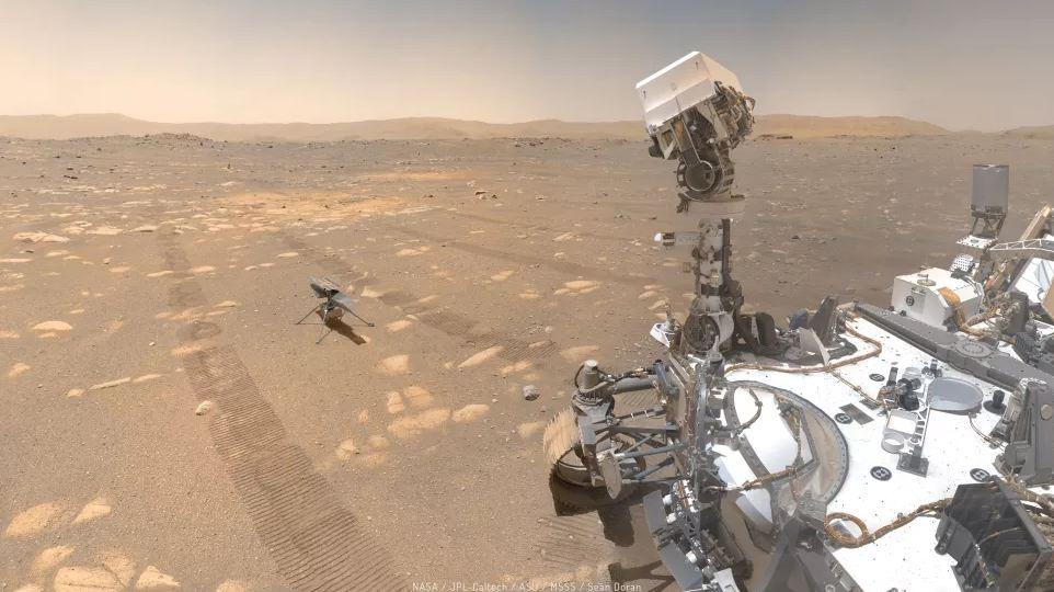 100 DAYS ON MARS